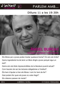 cartell àngel burgas